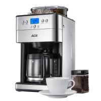 北美电器(ACA)咖啡机全自动磨豆 1.8L美式滴漏家用型 AC-M18A