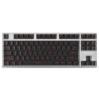 雷柏(Rapoo) V500合金版 游戏机械键盘 游戏键盘 吃鸡键盘 电脑键盘 笔记本键盘 黑色 茶轴