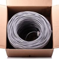 dostyle EC303工程级原装超五类箱装网线305米   线身米标