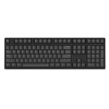 ikbc DC-108 黑色 茶轴 蓝牙机械键盘 原厂cherry轴 樱桃轴 108键 游戏键盘 绝地求生 吃鸡键盘