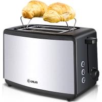 东菱(Donlim)面包机 多士炉 家用烤面包机2片早餐机 隐藏式烤架 DL-8012