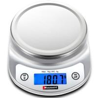 海氏(Hauswirt)HE-56 厨房秤烘焙称家用高精度电子称 0.1克精度 不锈钢托盘