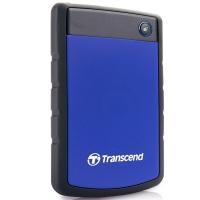 创见(Transcend)StoreJet 25H3B 抗震防护高速移动硬盘 USB3.0 2TB