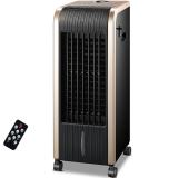 志高(CHIGO)FSE-12N驱蚊款冷暖遥控型取暖器/暖风机/冷风扇/空调扇(金黑色)