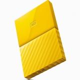 西部数据(WD)My Passport 4TB 2.5英寸 清新黄 移动硬盘 WDBYFT0040BYL-CESN
