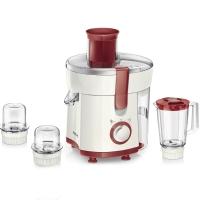 飛利浦(PHILIPS)榨汁機 多功能多配件可做料理可做果汁 HR1848/00