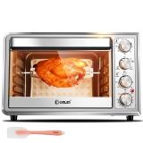 东菱(Donlim)38升/L 电烤箱 炉灯 上下独立控温 旋转烤叉 家用 烤箱 烘焙 DL-K40A