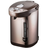 美的(Midea)电热水瓶 304不锈钢电水壶 5L容量 5段温控电热水壶 凉白开一键通烧水壶PF703-50T