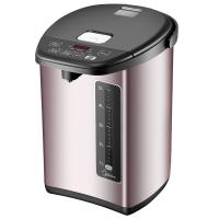 美的 (Midea)电热水瓶 304不锈钢电水壶 5L容量 5段温控电热水壶 双层彩钢烧水壶PF708c-50T