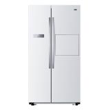 统帅(Leader)581升 风冷无霜 对开门冰箱(时尚吧台 低温净味 雅韵白) 海尔出品 BCD-581WLBPF