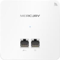 水星(MERCURY)MIAP301P 300M无线86型面板式AP 企业级酒店别墅wifi接入点 POE供电 AC管理