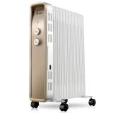 艾美特(Airmate)HU1122-W 11片电热油汀取暖器家用/电暖器/电暖气