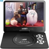 先科(SAST)32B 便携式移动DVD播放机 巧虎dvd影碟机cd 老人唱戏看戏机视频机 光盘usb播放器 9英寸 (黑色)