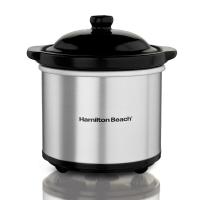 美国·汉美驰(Hamilton Beach)美式炖锅SC-05H 慢炖锅 免看管煲汤锅 婴儿煮粥陶瓷电炖盅 0.5L