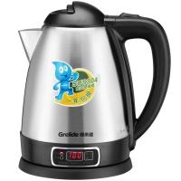 格来德 (Grelide) 电热水壶 304不锈钢烧水壶 三段调温 数字显温 1805EK 1.8L容量电水壶