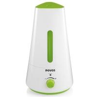 奔腾(POVOS)加湿器 1.5L容量 小三角  静音迷你办公室卧室客厅家用加湿 PW119 清新绿色