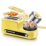 小熊(bear)煮蛋器 家用多功能早餐机吐司机 不锈钢迷你煮蛋器蒸蛋煎蛋 ZDQ-D05Z2
