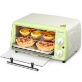 东菱(Donlim)电烤箱 家用迷你烘培烤箱 12L绿色  DL-K12