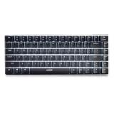 黑爵(Ajazz)极客AK33 全背光版机械键盘 黑轴黑色 背光 游戏 办公 电脑 笔记本键盘