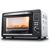忠臣(loyola)电烤箱家用30L智能独立控温多功能嵌入式黑色LO-30V