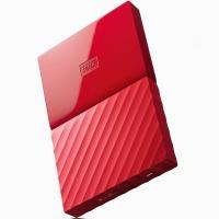 西部数据(WD)My Passport 3TB 2.5英寸 中国红 移动硬盘 WDBYFT0030BRD-CESN