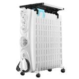 美的(Midea)取暖器/电暖器/电暖气 13片速暖电热油汀NY2513-17EW