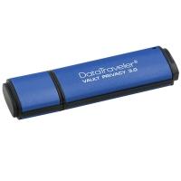金士顿(Kingston)DTVP30 16GB 加密 USB 3.0 U盘 256位AES硬件加密U盘
