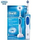 博朗 欧乐B(Oralb)电动牙刷 成人充电式2D声波震动牙刷 清洁型刷头*1 D12清亮型