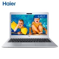 海尔(Haier)凌越S4 13.3英寸金属轻薄学生商务笔记本(i7-7500U 8G 128G SSD+500G 72%色域 1080P 正版Win10)