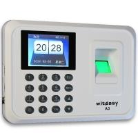 睿者易通(WITEASY) A3指纹考勤机 U盘直接出表 免装软件