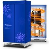 德尔玛(Deerma)干衣机 干衣容量10公斤 烘干功率850瓦 双层机械式按钮180分钟定时功能 DEM-Q7C