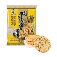 旺旺 厚烧海苔 饼干休闲零食 原味 118g