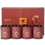 憩园 茶叶 四大茗茶组合礼盒 50g/罐*4