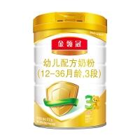 伊利奶粉 金领冠系列 幼儿配方奶粉 3段900克(1-3岁幼儿适用)新老包装随机发货