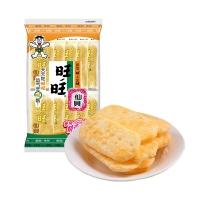旺旺 仙贝 零食 膨化食品 办公室休闲饼干 52g