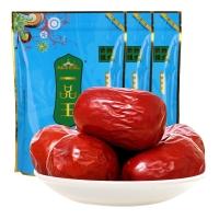 一品玉 和田四星大红枣450g*3袋 休闲零食 蜜饯果干 新疆特产 大枣