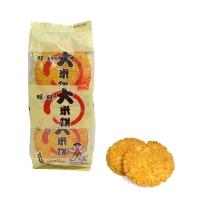 旺旺 大米饼 大米制香脆米饼膨化食品 休闲办公零食饼干下午茶 原味 135g
