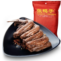 张鸭子重庆梁平特产 鸭翅 240g 卤味肉干休闲零食熟食