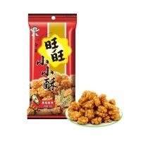 旺旺 休闲膨化零食 小小酥黑胡椒味60g