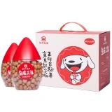 【京东JOY联名款】如水 坚果炒货 童年怀旧零食 鱼皮花生500g*2/盒 休闲零食超值双桶