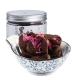 五分文 姜母花茶休闲零食 玫瑰黑糖块170g/罐