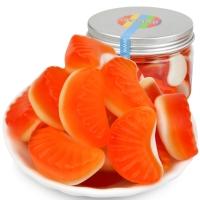怡可诺牌橘子片橡皮糖150g