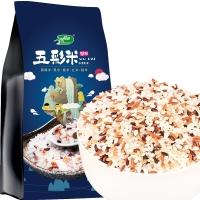 十月稻田 五彩米 1kg(黑米、糯米、黑糯米、红米、糙米等 杂粮 腊八粥料 粥米原料 大米伴侣)