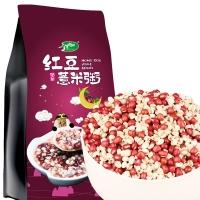 十月稻田 红豆薏仁米 1kg(薏仁米 红小豆 红豆薏仁粥 东北 五谷 杂粮 粗粮 真空装 大米伴侣)