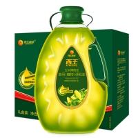 西王 玉米橄榄油 特级初榨 食用调和油礼盒5L