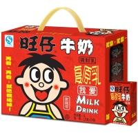 旺旺 旺仔牛奶 儿童牛奶早餐奶纯牛奶 原味 125ml*24