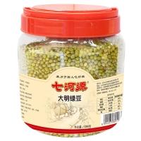 七河源 大明绿豆1380g(无添加 可发豆芽 打豆浆 东北 五谷 杂粮 粗粮 桶装 大米伴侣)