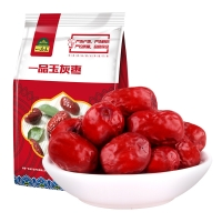 一品玉 新疆灰枣一等500g 休闲零食 蜜饯果干 新疆特产 大枣