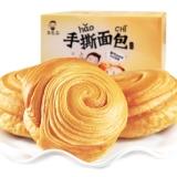 朱先森 手撕面包 零食 休闲食品早餐奶香酵母软面包小糕点心蛋糕 整箱装750g