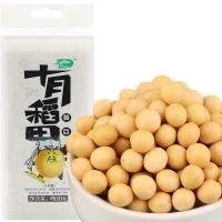 十月稻田 黄豆 400g(无添加 可发豆芽 打豆浆 大豆 东北 五谷 杂粮 真空装 大米伴侣)